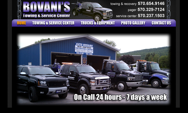 Bovanis Towing & Service Center