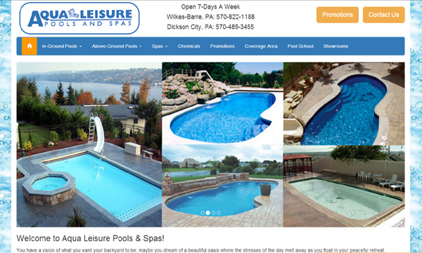 Aqua Leisure Pools & Spas